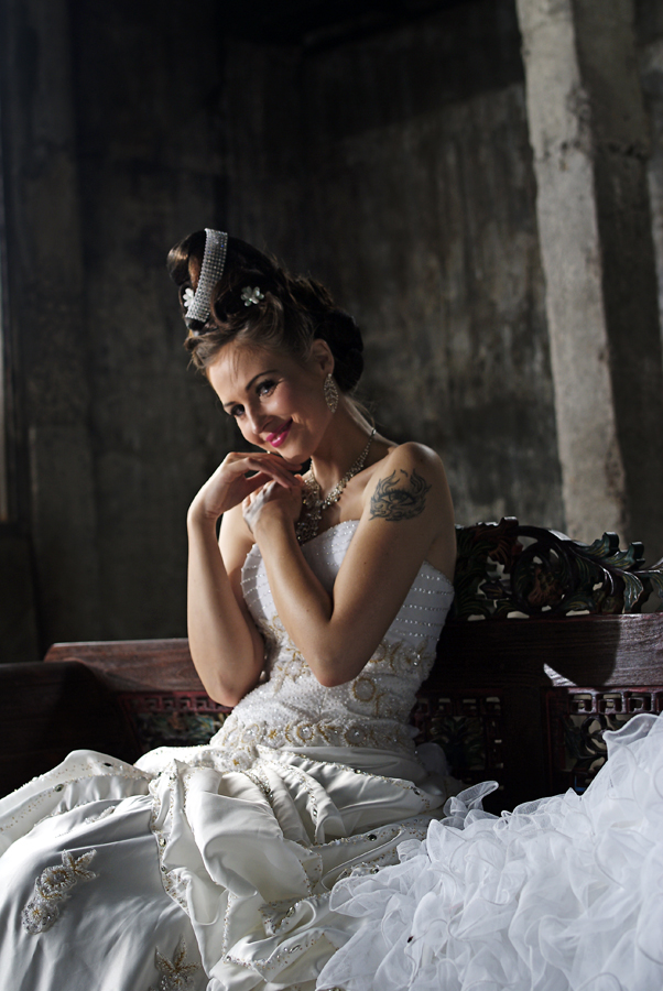 by AUGGIE Resta Cat - Wedding Bride