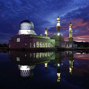 Masjid Bandaraya, Kota Kinabalu..Sabah by Mohd Fahmi Husen - Buildings & Architecture Other Exteriors
