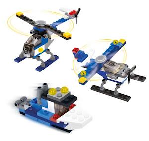 """Конструктор SuperBlock """"3в1"""" Самолет, Вертолет, Катер S"""