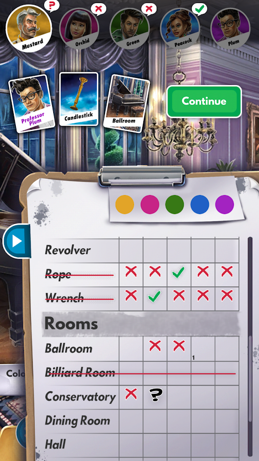Clue Screenshot 2