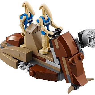 Десантный самолет боевых дроидов