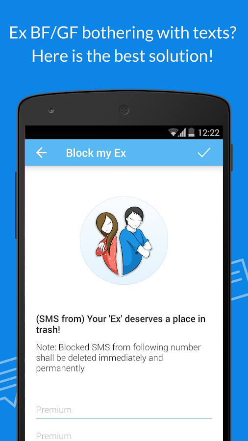 #1 SMS Blocker. Award winner! Screenshot 2