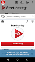 Screenshot of Start Meeting