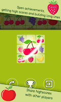 Screenshot of Fruit Lines