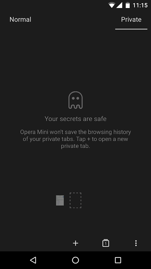 Opera Mini Browser Beta android apps download