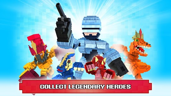 Game Super Pixel Heroes apk for kindle fire