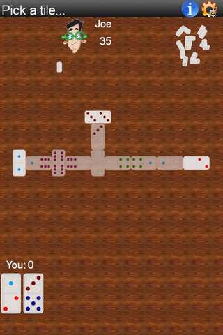 Dominoes Android App Screenshot