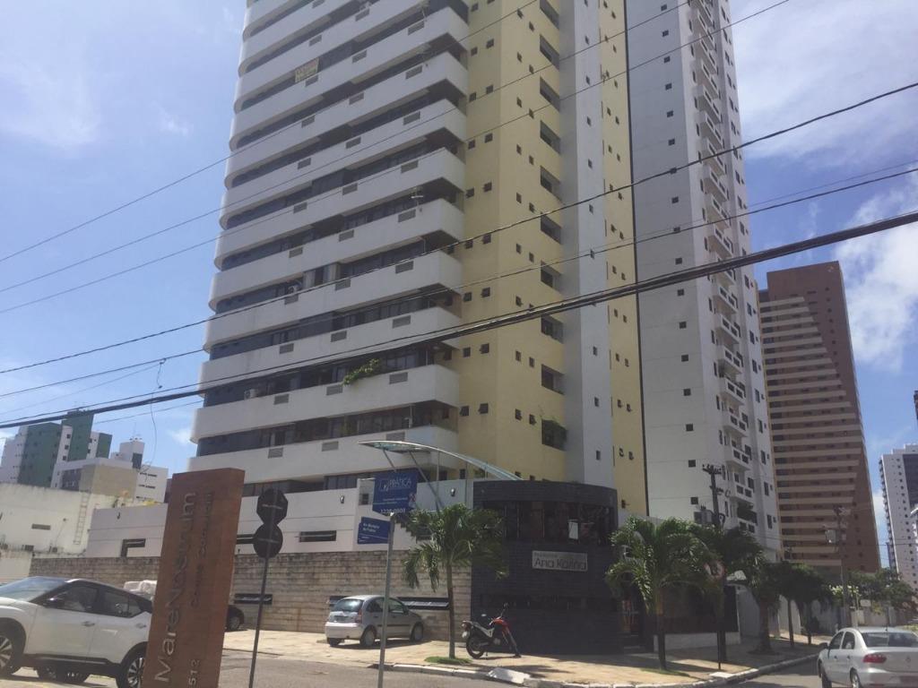Apartamento com 3 dormitórios para alugar, 210 m² por R$ 2.500/mês - Manaíra - João Pessoa/PB
