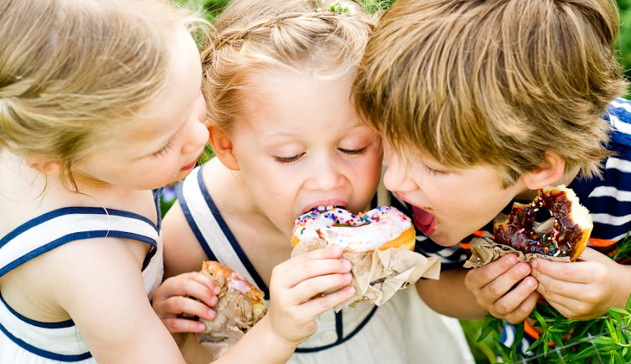 sharing by Nikki Baxendale - Babies & Children Children Candids ( girl, donut, beautiful, portrait )