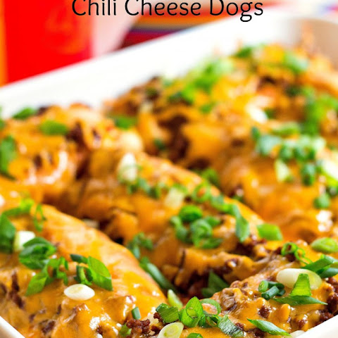 Oven Chili Cheese Dogs