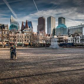 The Hague - Plein by Henk Verheyen - Buildings & Architecture Public & Historical ( nederland, den haag, plein, the hague, netherlands )