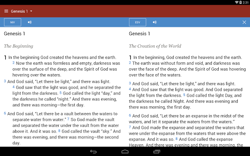 Bible Gateway screenshot 7