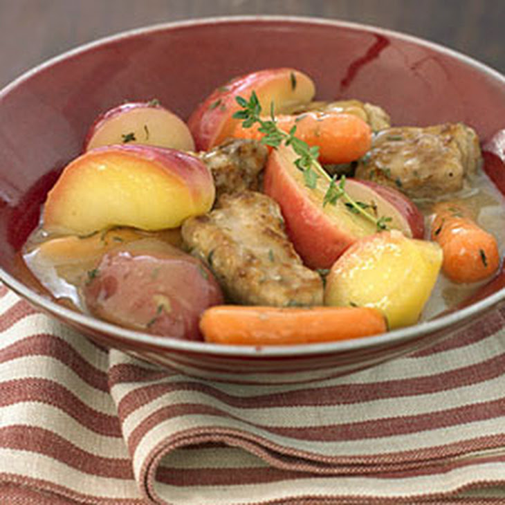 Braised Pork and Apple Stew Recipe | Yummly