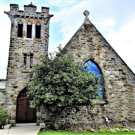 Baldwin Methodist church 1896 by Mary Gallo - Buildings & Architecture Places of Worship ( 1896, church, historic church, worship, building,  )