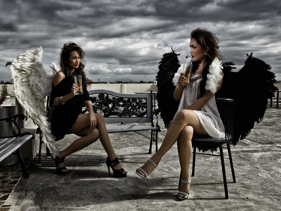 Class of Angels by Ron Alayon - People Fashion