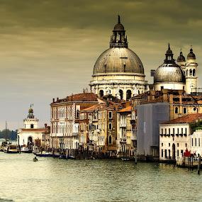 Santa Maria della Salute by Oguz Sevim - Buildings & Architecture Places of Worship ( church, santa maria della salute, venice, cathedral, basilica )