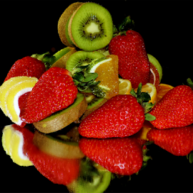 fruits with candy by LADOCKi Elvira - Food & Drink Fruits & Vegetables ( candy, fruits )
