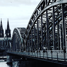 Koln  by Marcelo Xavier - City,  Street & Park  Historic Districts ( colônia, koln, bridge )