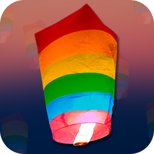 Colorful Flying Balloons