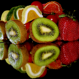 fruits with candys by LADOCKi Elvira - Food & Drink Fruits & Vegetables ( kiwi, fruits )