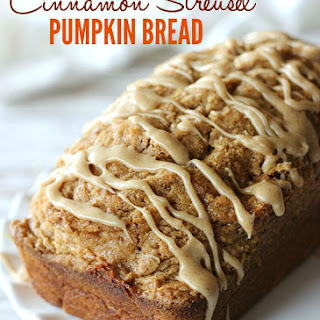 Cinnamon Streusel Pumpkin Bread Recipes
