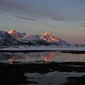LOFOTEN by Karl-roger Johnsen - Landscapes Mountains & Hills