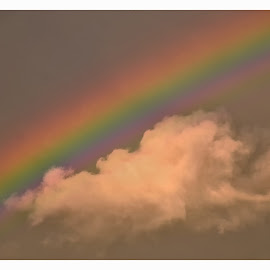 Rainbow after the Storm by Theresa Stevens - Landscapes Weather ( clouds, sky, colors, storm, rainbow )