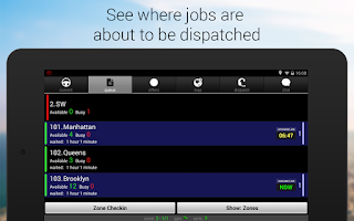 Screenshot of Taxi Caller - driver