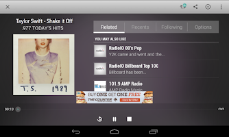 Screenshot of TuneIn Radio - Radio & Music