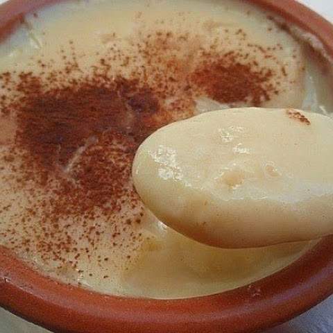 Spanish dessert «Natillas»