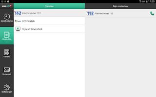 Screenshot of myMMX Signcall