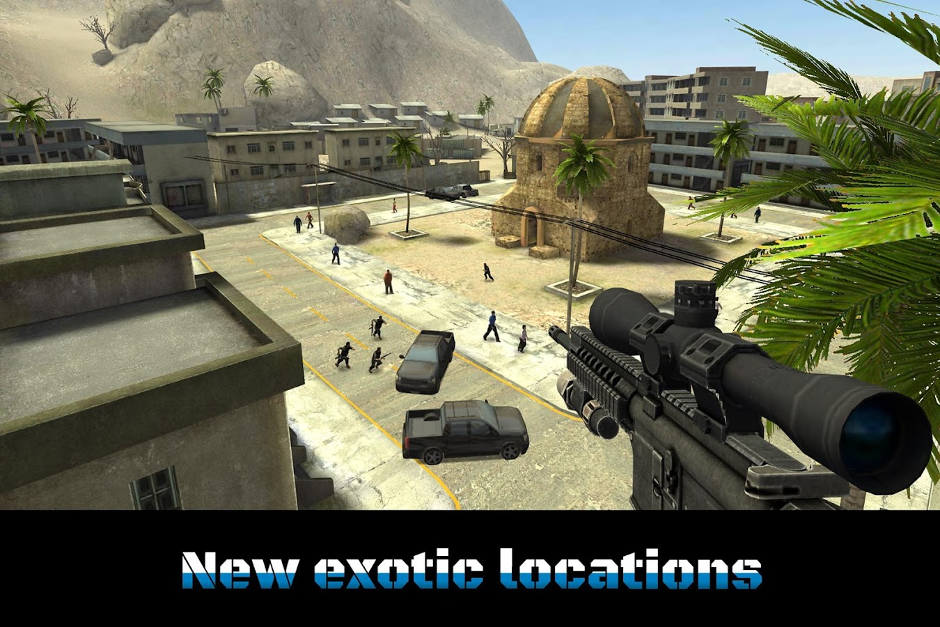 Sniper Ops - 3D Shooting Game Screenshot 9