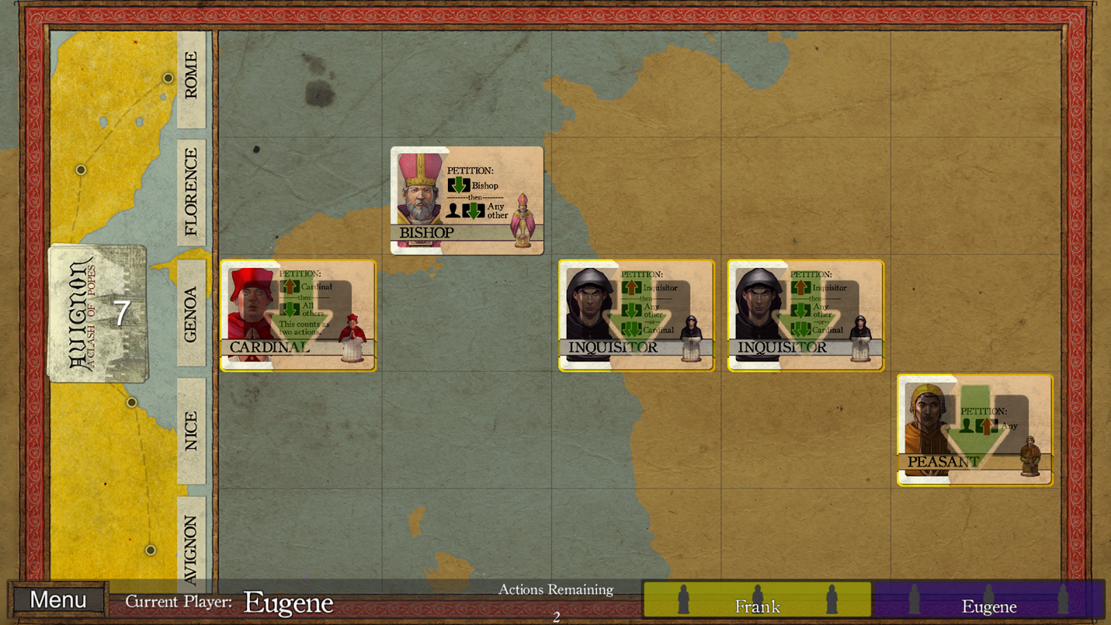 Avignon: A Clash of Popes Screenshot 3