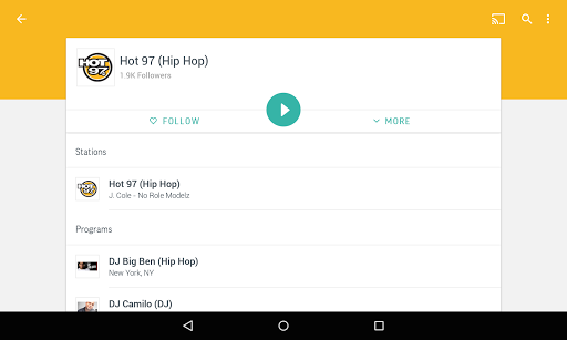 TuneIn Radio Pro - Live Radio - screenshot