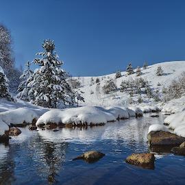 Winterscapes by Miloš Karaklić - Landscapes Waterscapes (  )