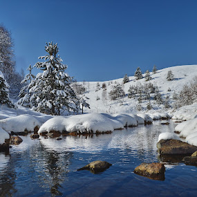 Winterscapes by Miloš Karaklić - Landscapes Waterscapes (  )