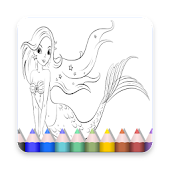 App Mermaids Coloring Pages For Kids APK for Windows Phone
