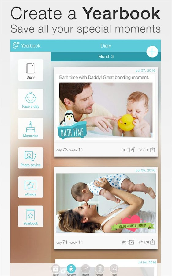 Baby + : your baby tracker Screenshot 8