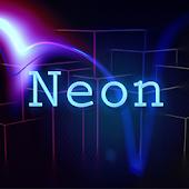 Neon Light Theme APK for Blackberry
