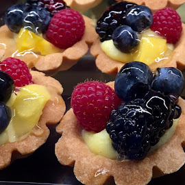 Mini Dessert Tarts by Lope Piamonte Jr - Food & Drink Candy & Dessert