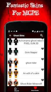 Ghost Skins for MCPE - screenshot