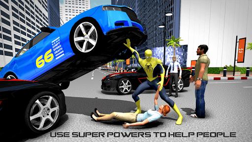 Flying Spider Hero Game 2017: City Battle For PC
