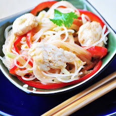 Red Curry Coconut Noodles