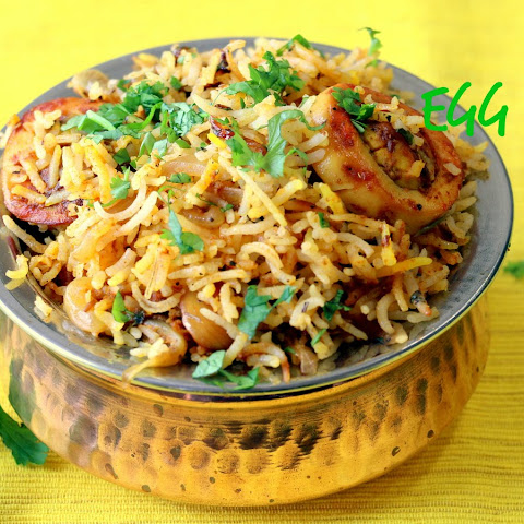 Egg Biryani – Indian Egg Rice