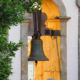 Bell sunset by Fernanda Paixão - Uncategorized All Uncategorized ( bell, church, sunset, bells, sun )