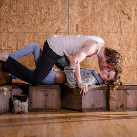 Staged Set by Melissa Culp - People Couples ( love, remodelinglove, people, stagedsets, couples )