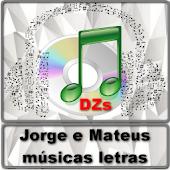 Jorge e Mateus músicas letras APK for Lenovo
