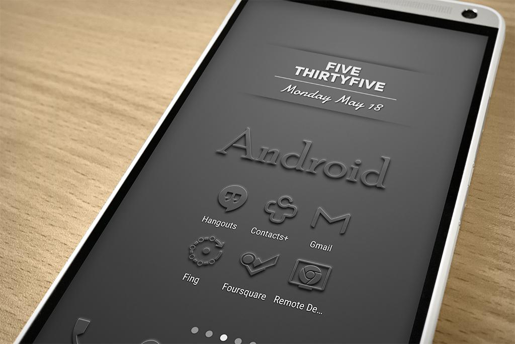 Embossed - Icon Pack Screenshot 8