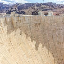 Hoover Dam by Shari Linger - Instagram & Mobile iPhone ( dam, nevada, arizona, hoover dam, desert )