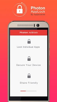 Photon AppLock APK screenshot thumbnail 4